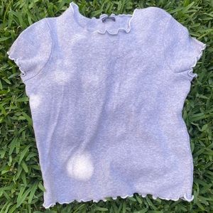 Brandy Melville gray wynn top